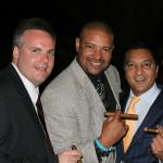 John Ost, Walter Briggs and Rocky Patel at another great cigar event.