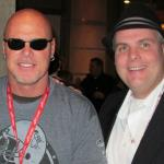 Jim McMahon of the Chicago Bears and John Ost at Cigar Event.