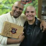 Walter Briggs and John Ost Jr at FW Lone Star Cigar event.